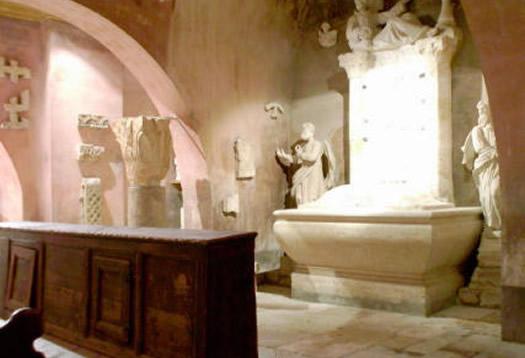 Bale - Il lapidario- la cripta